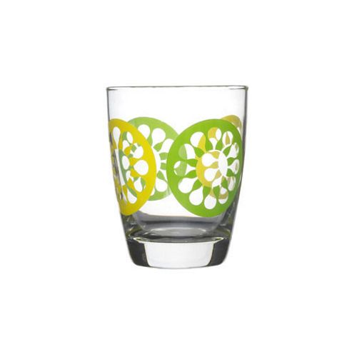 Sagaform Juicy Glass (Set of 4) in Green