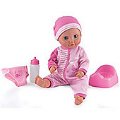 Dolls World Baby Tinkles Doll Pink