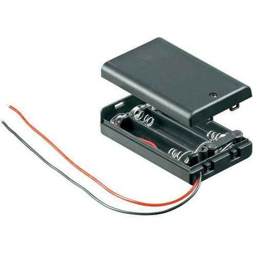 Conrad 3 AAA CLOSED Battery Holder
