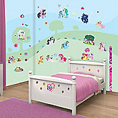 Walltastic My Little Pony Room Decor Wall Sticker Kit