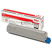 OKI Toner Cartridge for C8600 Colour Printers (Black)