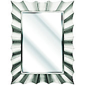 D & J Simons Capello Rectangle Mirror - Silver