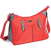 Caboodle Everyday Changing Bag (Red with Grey Trim)