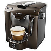 Pod Machine Favola Plus LM5200CB-U Coffee Pod Machine, By AEG, Brown