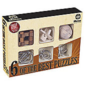 Set of 6 Puzzles