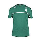 Canterbury Ireland Rugby IRFU RWC Cotton Training Tee 2015 - Bosphorus - Green
