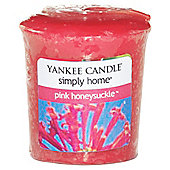 Yankee Candle Votive, Pink Honeysuckle