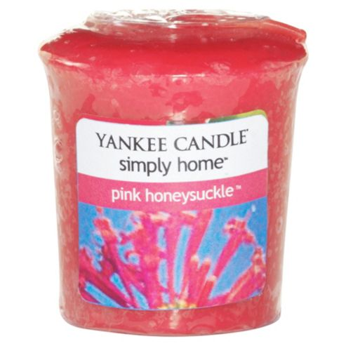 Yankee Votive Pink Honeysuckle