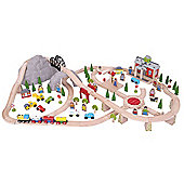 Bigjigs Rail BJT016 Mountain Railway Set