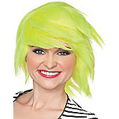 Yellow 80s Wig