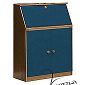 Verona Hobby Desk - Antique / Blue