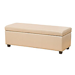 Sofa Collection Avignon Storage Footstool - Cream