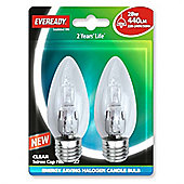Jegs JD443S (EVES4876) Eveready Cd2 Energy Saving Candle 28w Ses Halogen