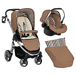 Hauck Lacrosse Shop N Drive Travel System, Toast