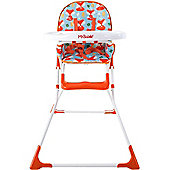 My Babiie MBHC1F Compact Highchair (Foxy)