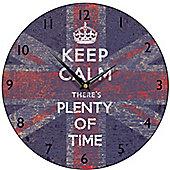 Smith & Taylor Keep Calm Union Jack Wall Clock