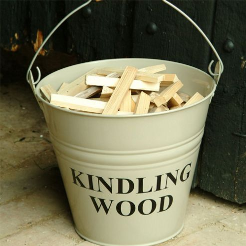 Garden Trading - Kindling Wood Bucket - Clay