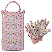 Briers Kids Birds Kneeler & Gloves Set