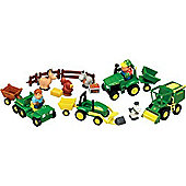 Fun On The Farm Playset - John Deere