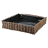 Dobbies Essentials Willow Vegetable Patio Planter