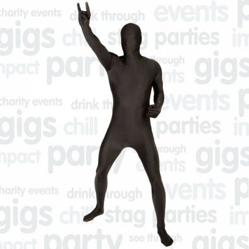 Morphsuit Black - Medium