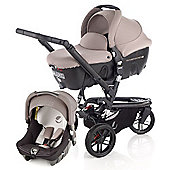 Jane Trider Formula Travel System (Cream)