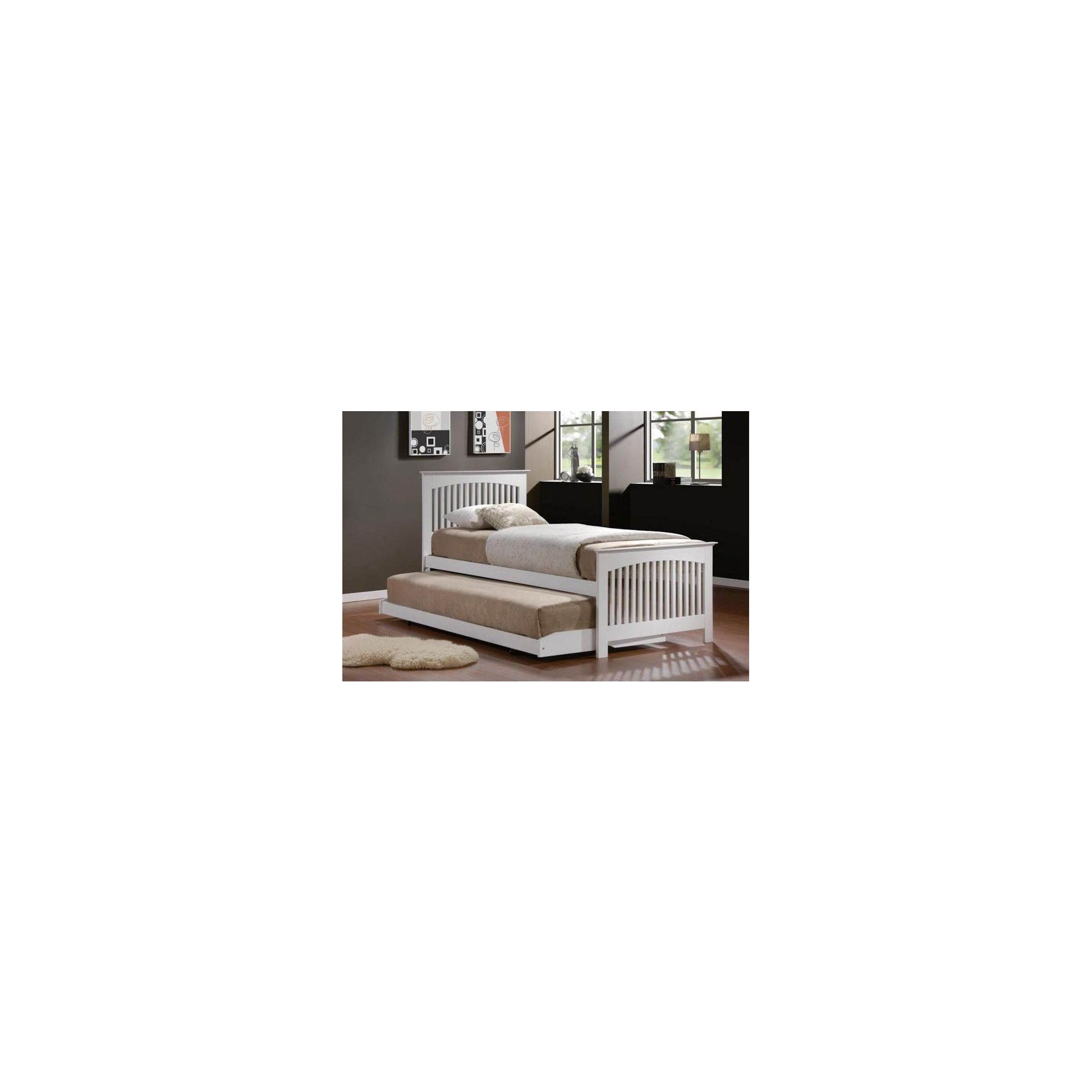 Birlea Toronto Bed Frame - White at Tesco Direct