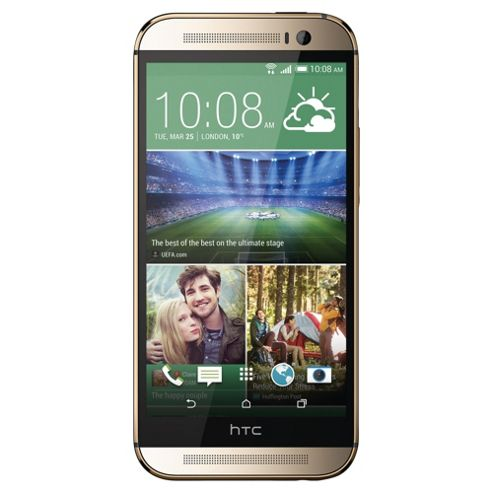 Tesco Mobile HTC One (M8) Amber Gold