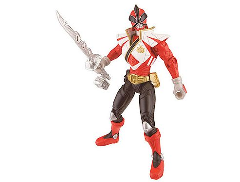 Power Rangers Super Samurai Action Figure - Red Super Mega Ranger