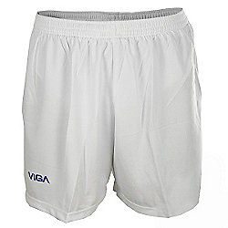 Viga White and Navy Team Football Shorts