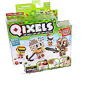 Qixels The Cubes That Join With Water Refill Pack - Warriors