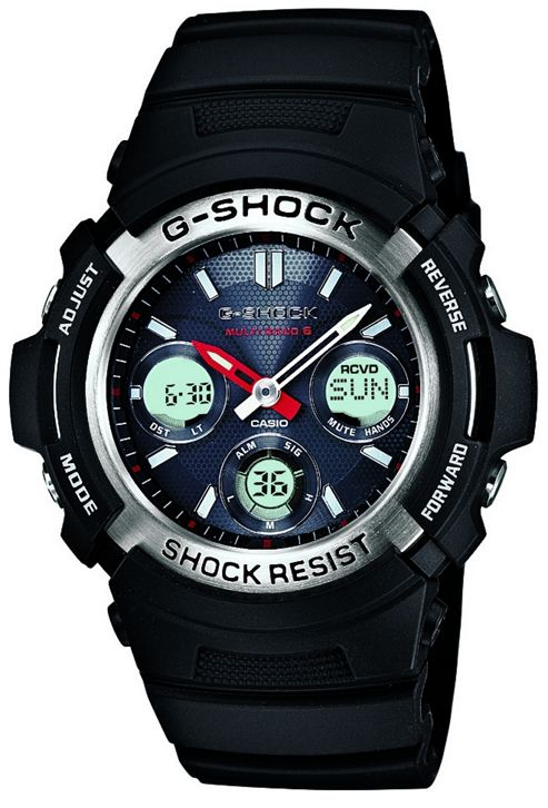 Casio Computer AWGM100/1A G-Shock Analogue & Digital Radio Controlled Watch Black