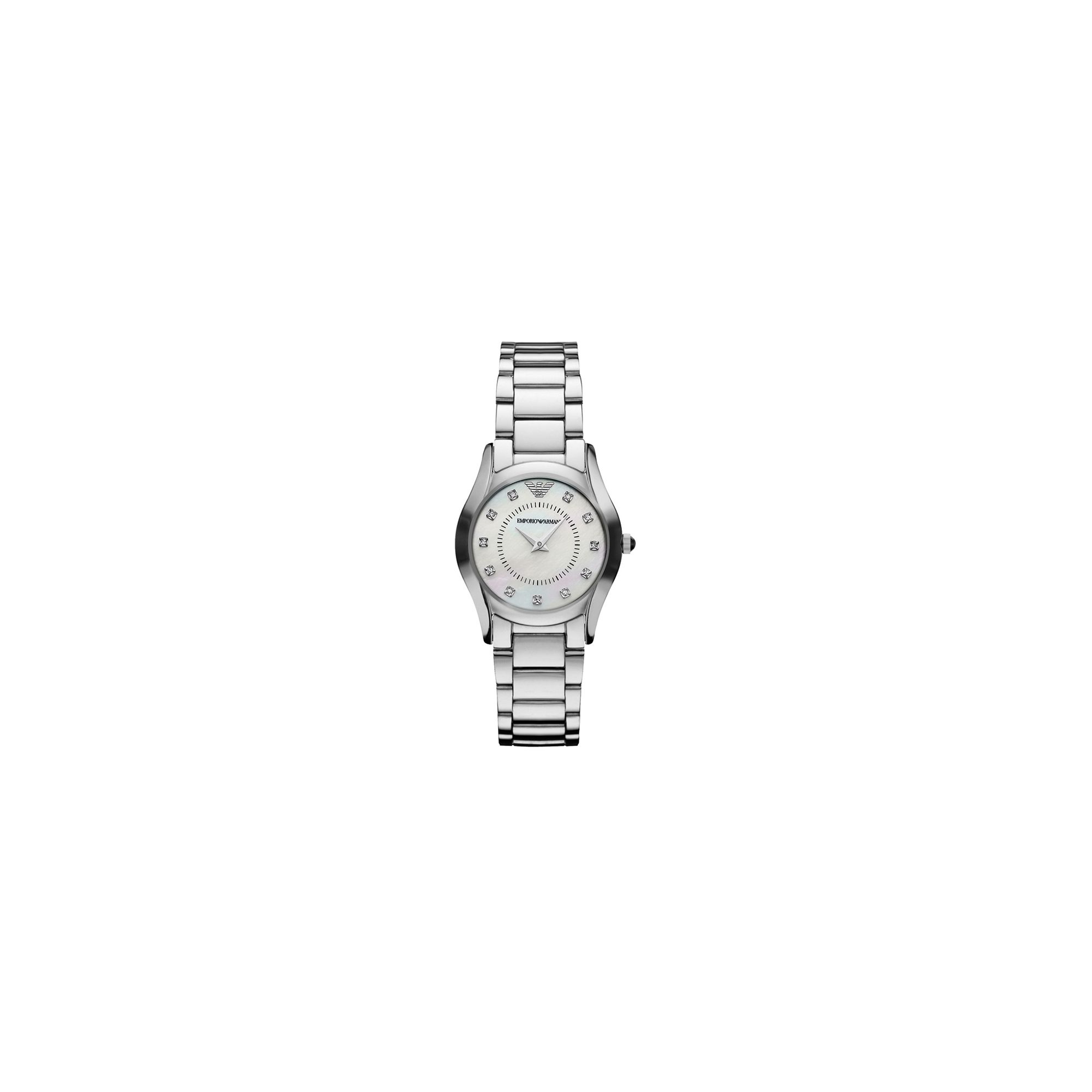 Emporio Armani Ladies Diamond Watch AR3168 at Tesco Direct