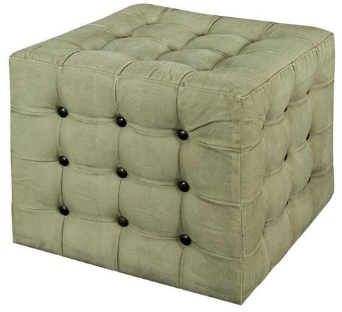 Alterton Furniture Stonewashed Ottoman