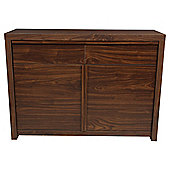 Tribeca 2 Door Walnut Effect Sideboard