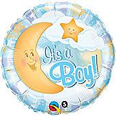 18' Its A Boy Celestial Blue (each)