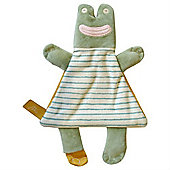 Baby Joule Cuddly Comforter Toy (Francis the Frog)