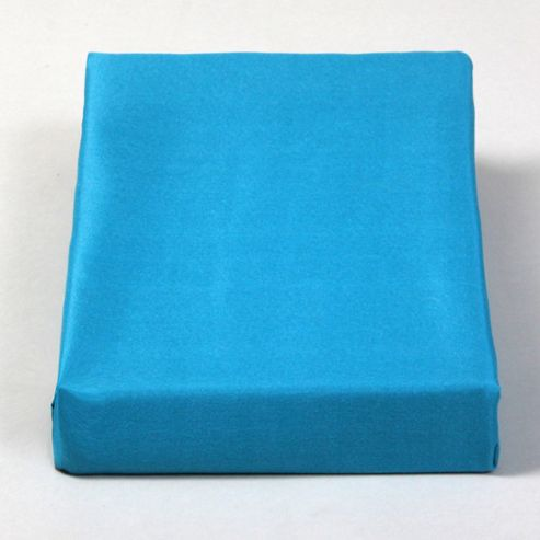 Restmor Micro-fibre Fitted Sheet in Teal (Set of 2) - King