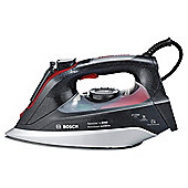 Bosch TDI9020GB Palladium Plate Steam Iron - Grey & Red