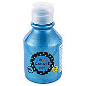 Go Create Ready Mixed Pearlescent Paint 150ml - Blue