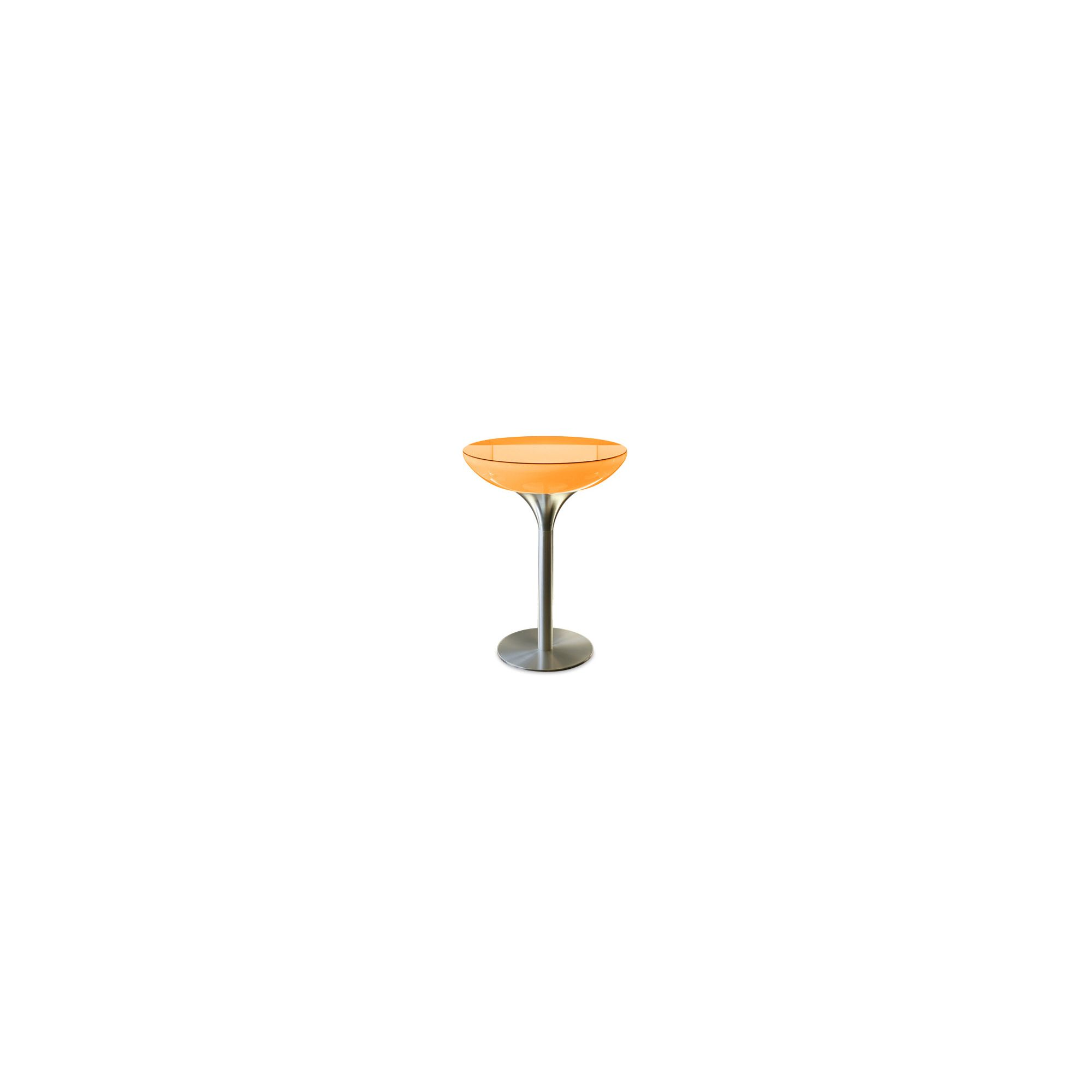 Moree Lounge Pro Table with Glass Top - 55cm at Tesco Direct