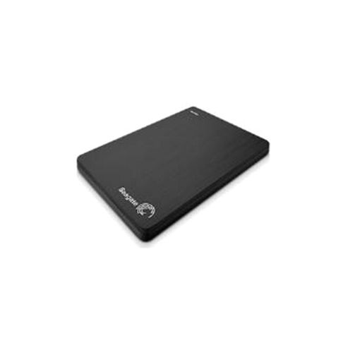 Seagate Slim (500GB) 25 inch Portable Hard Drive USB 30 (External) Black