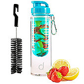 Andrew James Infusion Water Bottle In Blue