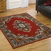 Lancaster Traditional Rugs in Red 120x160cm