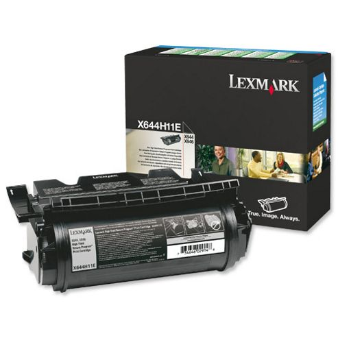 Lexmark X644e/X646e High Yield Return Program Print Cartridge (Yield 21,000 pages)
