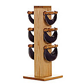 WaterRower Swing Bell Tower and Training Cards: 4 6 8kg