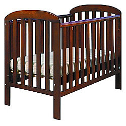 East Coast Anna Finish Drop Side Cot, Cocoa