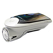Cateye Front Solar Hybrid LED Bicycle Light