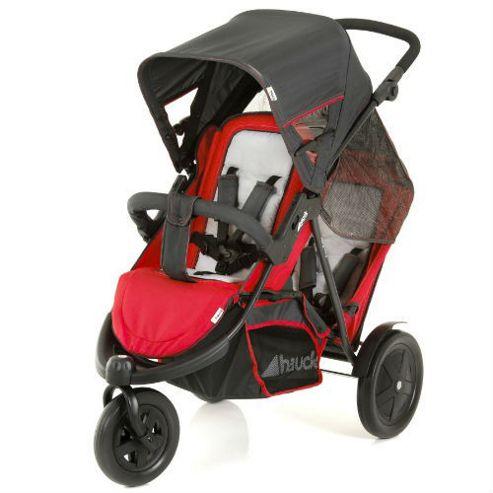Hauck Freerider Tandem Stroller, Red