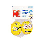 Despicable Me Minion Splash Balls Double Pack